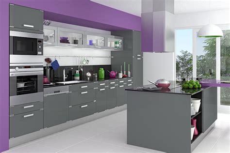 meuble de cuisine gris beautiful meuble de cuisine gris gallery seiunkel us