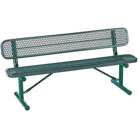 parkland heritage amarillo patio park bench sl6810 ab