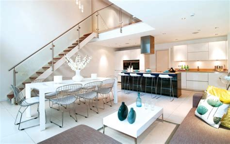 Wohnzimmer Küche Kombinieren by Wohnzimmer Und K 252 Che In Einem Raum