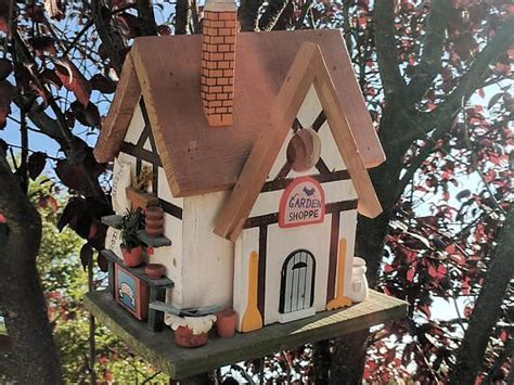 South windsor, ct ( map ). HIGHLY DETAILED Custom Made Hanging Decorative Wood Coffee Shop Outdoor Bird House Flowers ...