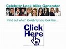 Celebrity Look A Like Generator Free