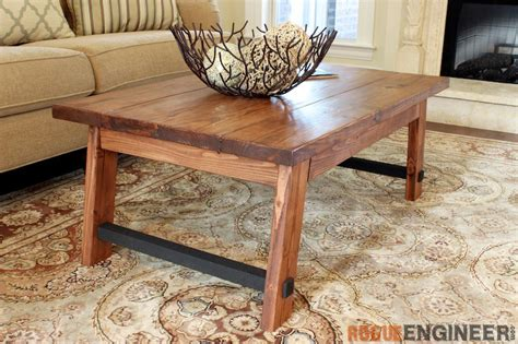 angled leg coffee table  diy plans rogue engineer