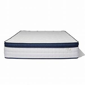 brentwood home del mar wrapped innerspring mattress made With best rated coil spring mattress