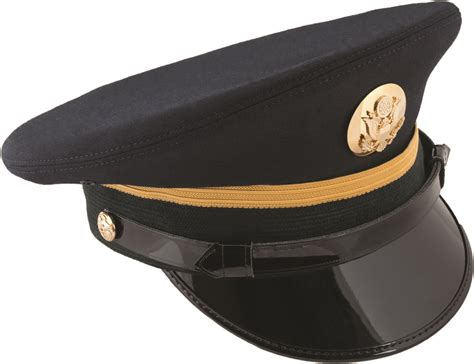 Army Blue Service Cap Enlisted Us Military