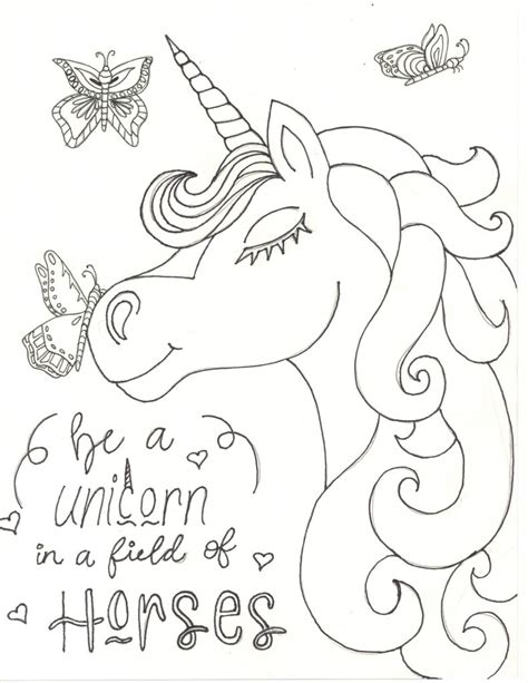 Coloring Unicorn Pages by Unicorn Coloring Pages Raising Smart