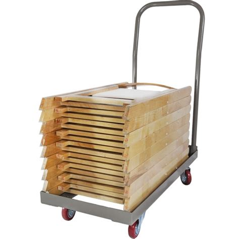 discount folding chair cart stackng chair cart lowest