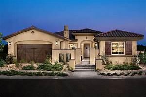 Single Story Mediterranean Home Plans