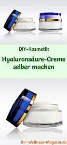 Ringelblumen Creme Selber Machen : hyalurons ure creme selber machen rezept und anleitung ~ Frokenaadalensverden.com Haus und Dekorationen