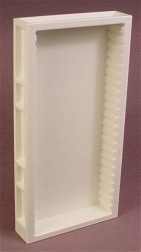 base cabinets for kitchen playmobil white wall section with shallow cabinet slots 4325