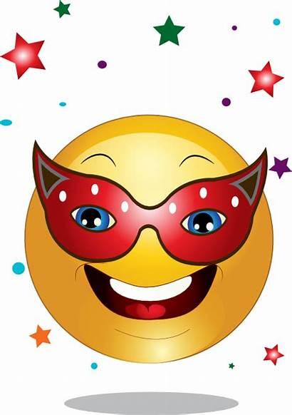 Smiley Mask Emoticon Smileys Yellow Emoji Clipart