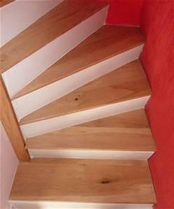 Marche D Escalier En Chene : marches d escalier en bois le blog du bois ~ Melissatoandfro.com Idées de Décoration