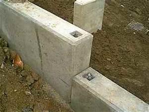 Zaun Aus Beton : baumaterialien zement sockelsteine beton ~ A.2002-acura-tl-radio.info Haus und Dekorationen