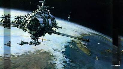 Sci Fi Space Desktop Postmodernism Retro 80s