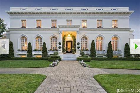 historic beaux arts mansion  san francisco ca homes   rich
