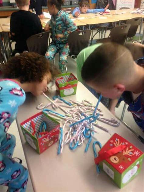 Bobbing For Candy Canes  Classroom Christmas  Christmas, Candy Cane, Christmas Games