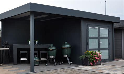Modernes Gartenhaus Flachdach by Modernes Flachdach Gartenhaus Aus Aluminium Mit
