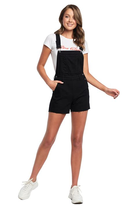 Denim Short Overall | Ladies Clothing & Playsuits ...