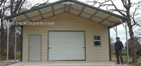 garage  built gatorback carports
