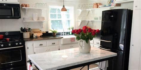 Remodelaholic   Kitchen Renovation: Updating Knotty Pine