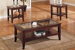 Mahogany coffee table with glass top coffee table design for Mahogany coffee table set