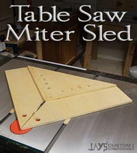 perfect miters   table  miter sled jays custom
