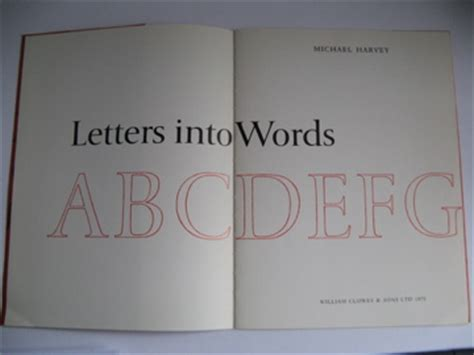 letters into words letters into words alan isaac books sales 46547