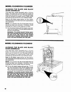 Page 28 Of Craftsman Saw 113 248510 User Guide
