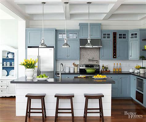 kitchen color schemes  homes gardens