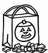 Candy Coloring Printable Halloween Preschool Colouring Popular Adults sketch template