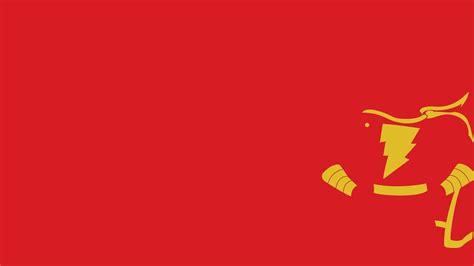 Flash Logo, Dc Comics, Shazam, Captain Marvel, Minimalism