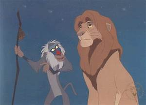 related pictures rafiki holding simba MEMES