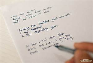 How to Write a Haiku Poem (with Sample Poems) - wikiHow