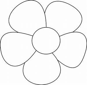 Simple Flower Clip Art at Clker.com