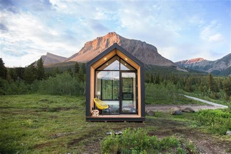 We decided to go with zip kit homes because winter was coiming fast and we needed something that was high quality, built fast and a great design. Prefab home 'Mono' is a tiny cabin for anywhere you like - Curbed
