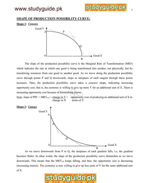 Worksheets Production Possibilities Curve Practice Worksheet Waytoohuman Free Worksheets For