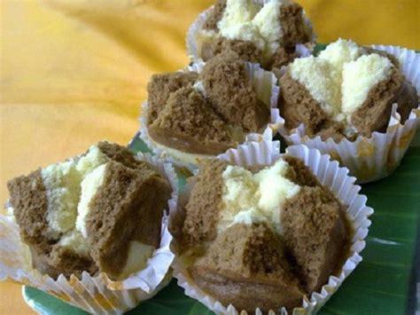 resep   membuat bolu kukus coklat mekar  lembut