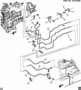 2008 Chevy Trailblazer Fuel System Diagram