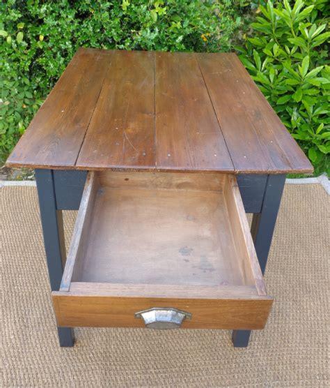 table appoint cuisine table d 39 appoint pour cuisine plateau en bois naturel et