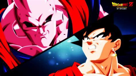 Anime Bdz Buu Vs Goku By Dradek By Dradek On Deviantart
