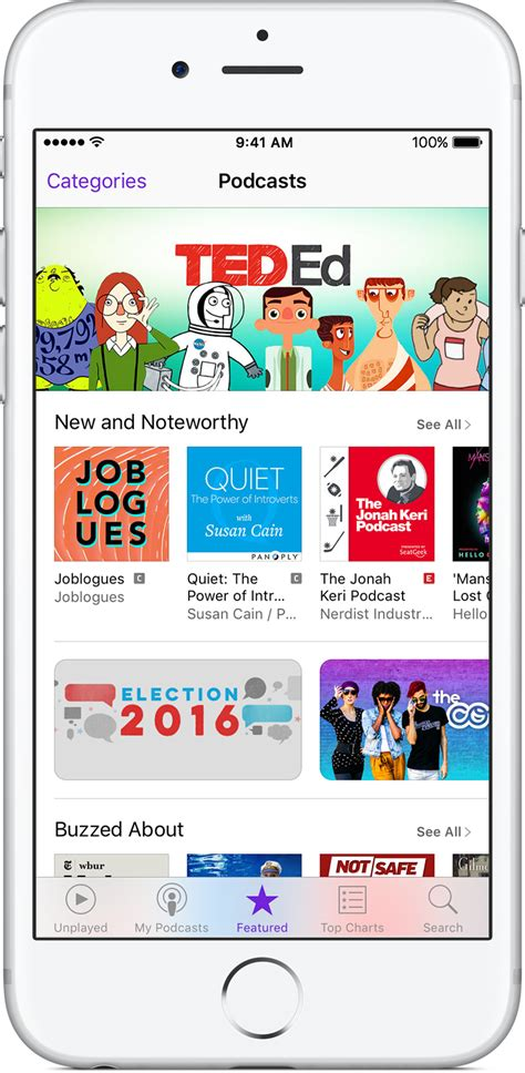 how to play podcasts on iphone about the podcasts app apple support