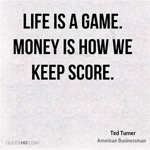 Ted Turner Money Quotes | QuoteHD