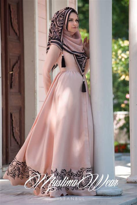 muslima wear 2015 poudre dress muslima wear design and