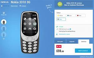 Nokia 3310 3g Goes On Sale In Europe
