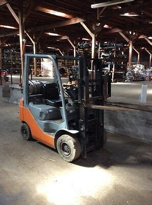 toyota forklift fgu good  steer axle