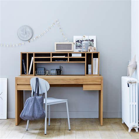 bureau pour ado gar n bureau en teck meuble informatique en bois massif