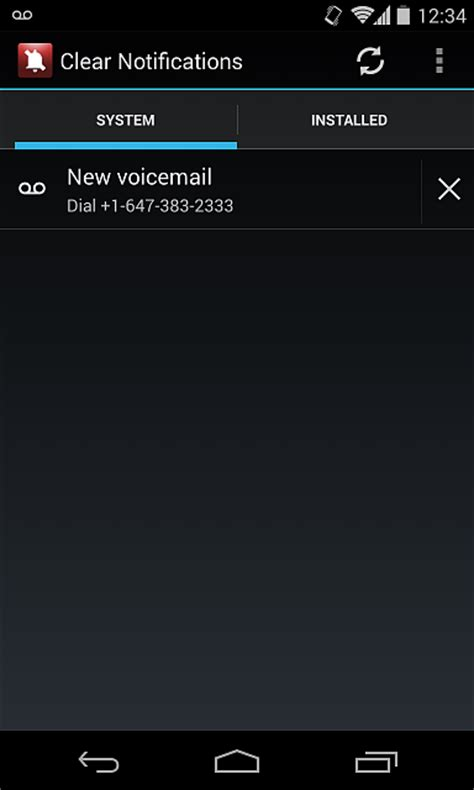how to delete voicemail on android htc droid eris voicemail notification icon won t go away