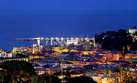 fonds d ecran italie mer c 244 te maison santa margherita nuit