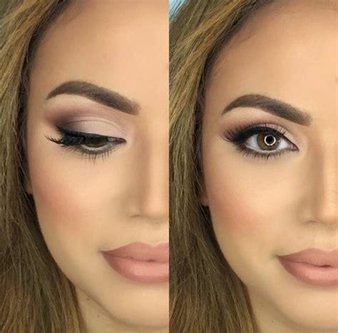 maquillage magnifique yeux marrons