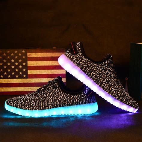 Yeezy Light Up Shoes md light up shoes fashion yeezy boost yeezy s