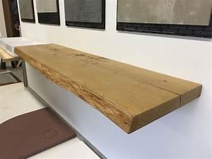 Massivholzplatte Mit Baumkante : eiche massiv waschtischplatte nach ma echtholz waschtischplatten pinterest ~ Markanthonyermac.com Haus und Dekorationen